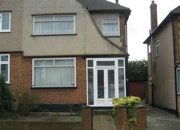 Thumbnail 3 bedroom semi-detached house to rent in Montpelier Rise, Wembley, Wembley
