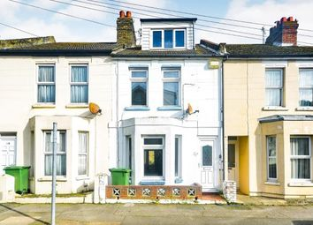 Thumbnail 3 bed terraced house for sale in Albion Road, Folkestone, Kent