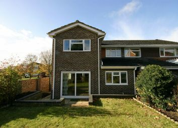 Thumbnail 3 bedroom semi-detached house for sale in Rossan Avenue, Warsash, Southampton