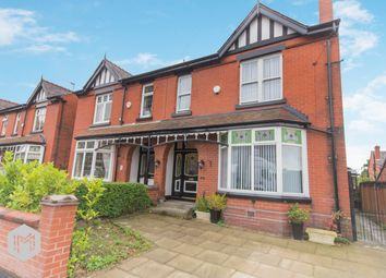 Thumbnail 4 bed semi-detached house for sale in Park Road, Worsley, Manchester