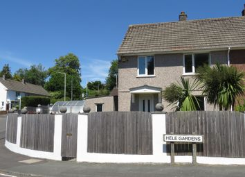 Thumbnail 3 bed semi-detached house for sale in Hele Gardens, Plympton, Plymouth