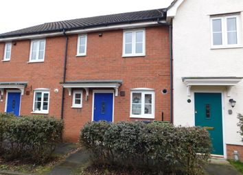 Thumbnail 2 bedroom terraced house to rent in Pennycress Drive, Wymondham, Norfolk
