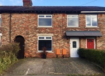 Thumbnail 3 bed terraced house for sale in Queens Avenue, Macclesfield