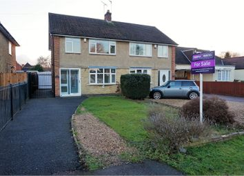 Thumbnail 3 bed semi-detached house for sale in Dominion Road, Leicester
