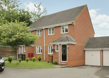 Thumbnail 3 bed semi-detached house for sale in Old English Drive, Andover