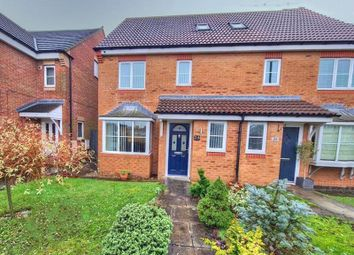 Thumbnail 4 bed semi-detached house for sale in The Limes, West Moor, Newcastle Upon Tyne