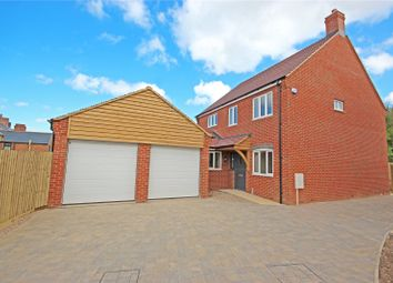 Thumbnail 4 bed detached house for sale in Grace Road, Sapcote, Leicester, Leicestershire
