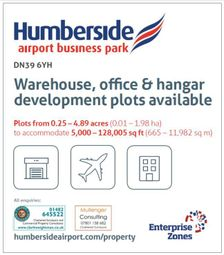 Thumbnail Land to let in Development Land At, Humberside International Airport Business Park, Grimsby Road, Kirmington