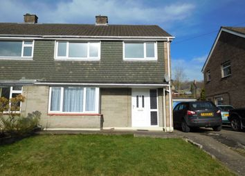 Thumbnail 3 bed semi-detached house for sale in St Davids Drive, Machen, Caerphilly