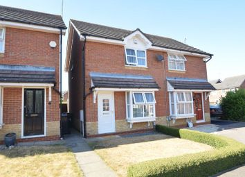 Thumbnail 2 bedroom semi-detached house for sale in Cresswell Gardens, Luton