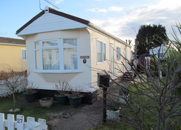 Thumbnail 1 bed mobile/park home for sale in Lighthouse Park (Ref 5831), St Brides, Newport, Wales