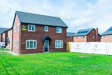 Thumbnail 3 bed detached house to rent in Fenham Drive, Nesscliffe, Shrewsbury
