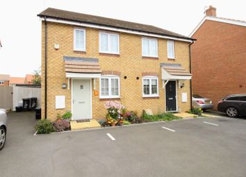 Thumbnail 2 bed semi-detached house for sale in Culverhouse Road, The Sidings, Swindon