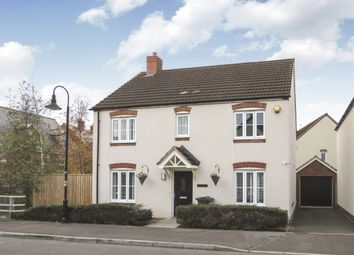 Thumbnail 4 bed detached house for sale in Prospero Way, Swindon