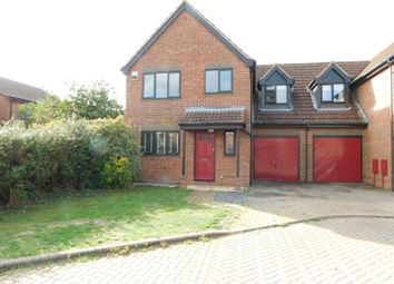 Thumbnail 4 bed link-detached house for sale in Elgar Drive, Shefford, Beds