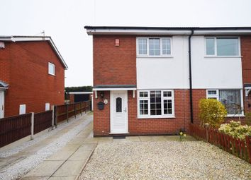Thumbnail 2 bed semi-detached house for sale in Cheltenham Grove, Birches Head, Stoke-On-Trent