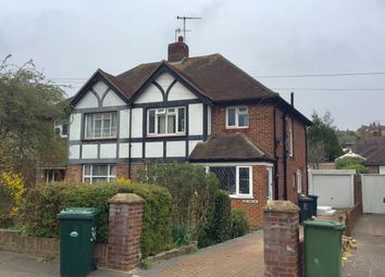 Thumbnail 3 bedroom semi-detached house to rent in Goldstone Crescent, Hove