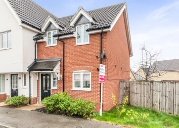 Thumbnail 2 bedroom semi-detached house for sale in Overing Avenue, Great Waldingfield, Sudbury