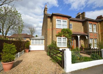 Thumbnail 4 bed semi-detached house for sale in Manor Road, Walton-On-Thames