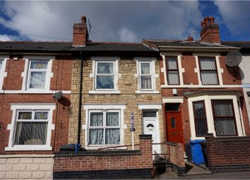 Thumbnail 3 bed terraced house for sale in Upper Dale Road, Derby