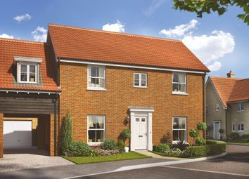 Thumbnail 4 bed link-detached house for sale in Saham Road, Watton, Thetford