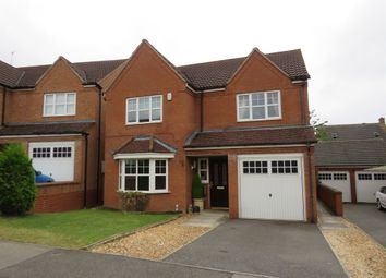 Thumbnail 4 bedroom detached house for sale in Hidcote Close, Corby