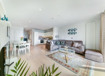 Thumbnail 2 bed flat for sale in Commodore House, Royal Wharf, London