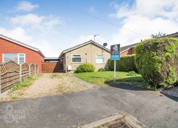 Thumbnail 3 bed detached bungalow for sale in Cawstons Meadow, Poringland, Norwich