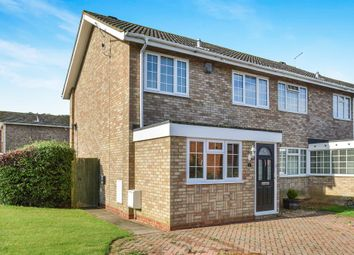 Thumbnail 3 bed semi-detached house for sale in Pentlands, Fullers Slade, Milton Keynes