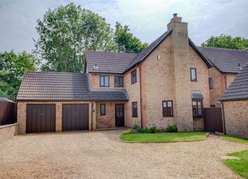 Thumbnail 4 bed detached house for sale in Sarek Park, West Hunsbury, Northampton