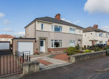 Thumbnail 3 bed semi-detached house for sale in 12 Rosshall Avenue, Paisley