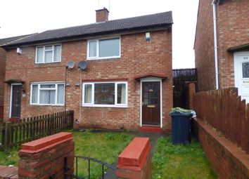 Thumbnail 1 bed semi-detached house to rent in Telford Road, Thorney Close.Sunderland.