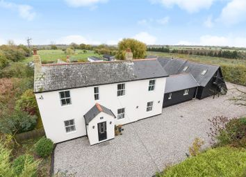 Thumbnail 4 bed equestrian property for sale in Colne Road, Somersham, Huntingdon