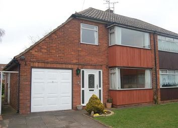 Thumbnail 3 bed semi-detached house to rent in Langland Drive, Sedgley, Dudley