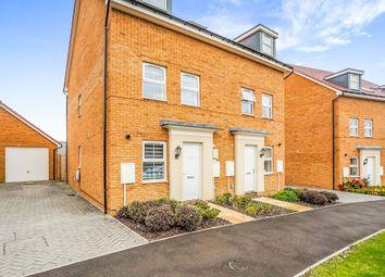 Thumbnail Semi-detached house for sale in Wallis Drive, Leighton Buzzard