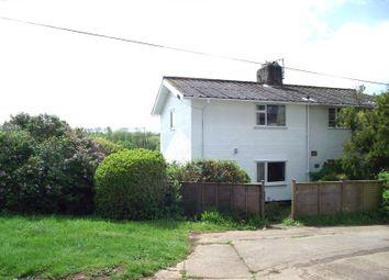 Thumbnail 3 bed semi-detached house for sale in Broom Park, Dartington, Totnes