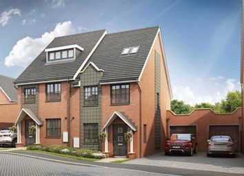 Thumbnail 4 bed semi-detached house for sale in The Dale B At Pine Trees, Daws Hill Lane, High Wycombe