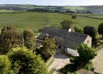 Thumbnail 4 bed barn conversion for sale in Green Lane, Soyland