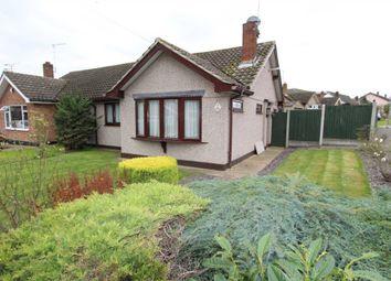 Thumbnail 2 bed semi-detached bungalow for sale in Cheltenham Drive, Benfleet