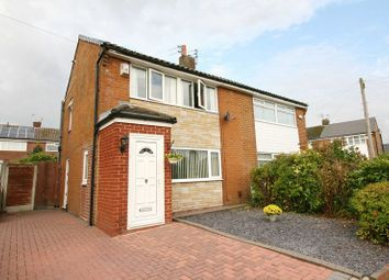Thumbnail 3 bed semi-detached house for sale in Langley Drive, Worsley, Manchester