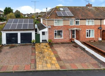 Thumbnail 4 bed end terrace house for sale in Manstone Avenue, Sidmouth, Devon