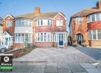 Thumbnail 5 bed semi-detached house for sale in Woodford Green Road, Birmingham