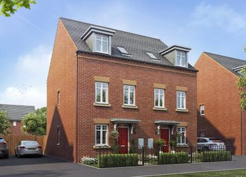 """Thumbnail 3 bedroom semi-detached house for sale in """"Buckley"""" at Warkton Lane, Barton Seagrave, Kettering"""