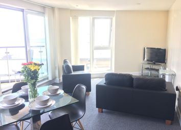Thumbnail 2 bedroom flat to rent in Meridian Tower, Swansea