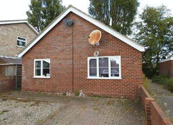 Thumbnail 2 bed detached bungalow for sale in Cavendish Close, Lowestoft