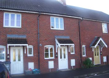 Thumbnail 2 bed terraced house to rent in Saxon Court, St. Georges, Weston-Super-Mare