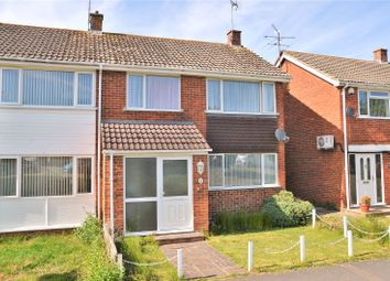 Thumbnail 3 bed end terrace house for sale in Meadow Way, Theale, Reading, Berkshire