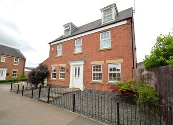 Thumbnail 5 bed detached house to rent in Burdock Way, Desborough, Kettering