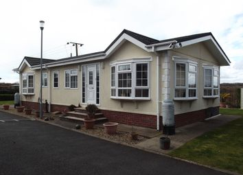 Thumbnail 2 bed mobile/park home for sale in Wixfield Park, Gt Bricett