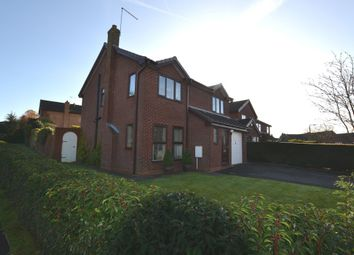 Thumbnail 4 bed detached house for sale in The Bridleway, Market Drayton